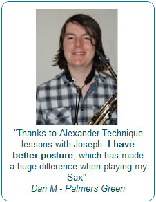 Thanks to Alexander Technique lessons with Joseph. I have better posture